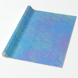 Beautiful Blue Marbled Paper Look