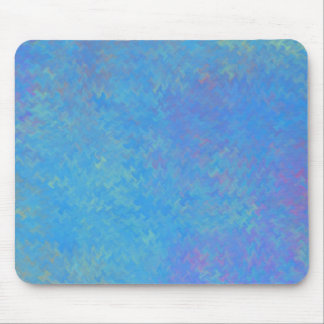 Beautiful Blue Marbled Paper Look Mouse Pad