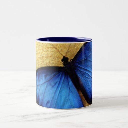 Beautiful Blue Morpho Butterfly Mug