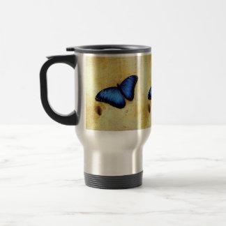 Beautiful Blue Morpho Butterfly Mugs