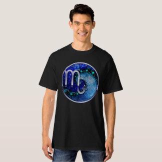 Beautiful Blue Nocturne of Scorpio Sapphire Spiral T-Shirt