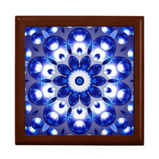 Beautiful Blue Prism Effect Keepsake Box