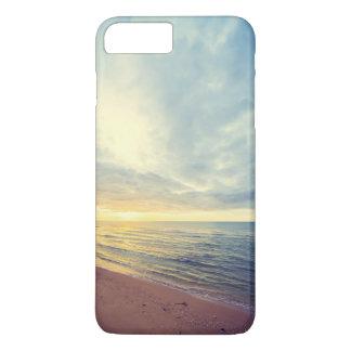 Beautiful Blue Sky Beach Sunset   Phone Case