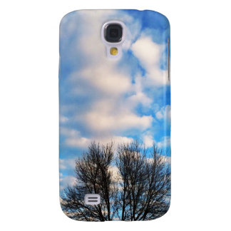 Beautiful blue sky fall by healing love HTC vivid cases