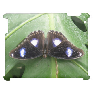 Beautiful Blue Spotted Butterfly iPad Case