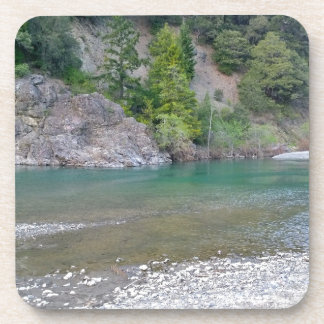 Beautiful Blue Stream in Northern California Drink Coaster