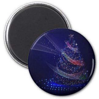 Beautiful Blue Tree Magnet