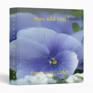 Beautiful Blue Water Lily Design ~ Avery Binder