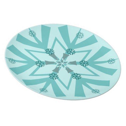Beautiful blues party plates zazzle Beautiful plates