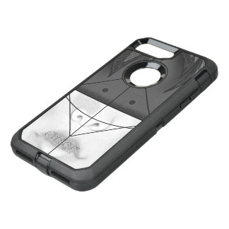 Beautiful BnW Fractal Feathers for Major Motoko OtterBox Defender iPhone 7 Plus Case