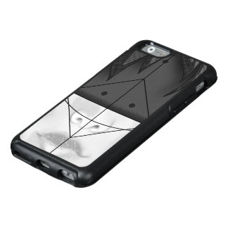 Beautiful BnW Fractal Feathers for Major Motoko OtterBox iPhone 6/6s Case