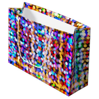 Beautiful Bokeh Large Gift Bag