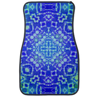 Beautiful Bold Abstract Pattern Car Mat