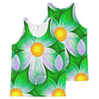 Beautiful Bold Daisies All-Over-Print Tank Top