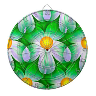 Beautiful Bold Daisies Dartboard