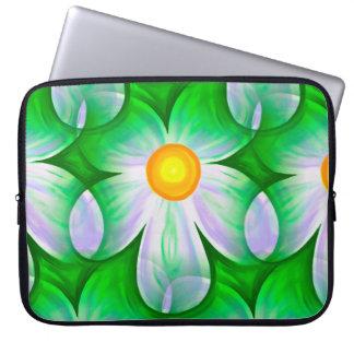 Beautiful Bold Daisies Laptop Sleeve