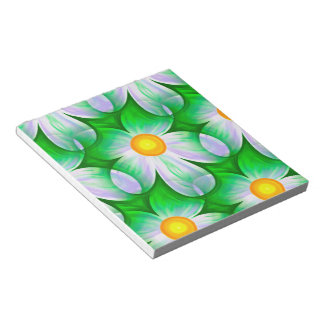 Beautiful Bold Daisies Notepad