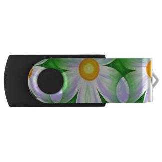 Beautiful Bold Daisies Swivel USB 3.0 Flash Drive