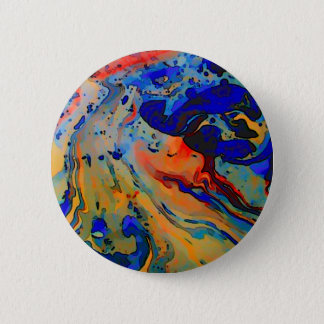 """""""beautiful bold marbling image"""" 2 inch round button"""
