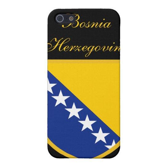 Beautiful Bosnia Herzegovina Flag iPhone 5/5S Covers