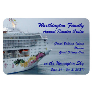 Beautiful Bow Custom Cruise Magnet