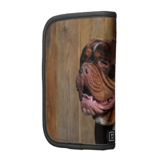 beautiful breed dog renascence bulldog folio planner