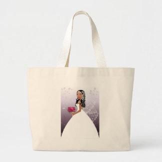 Beautiful Bride Large Tote Bag