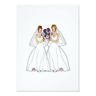 Beautiful Brides Invitation