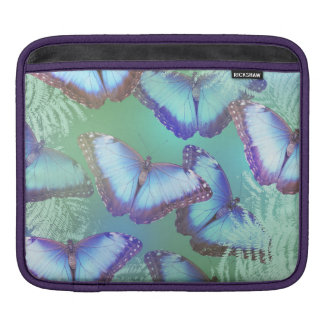Beautiful bright butterflies iPad sleeve