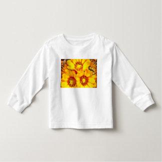 Beautiful bright yellow flowers toddler t-shirt