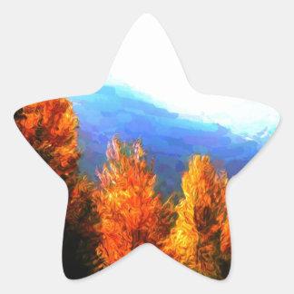 Beautiful British Columbia Star Sticker