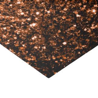 Beautiful Bronze Orange Brown glitters sparkles Tissue Paper