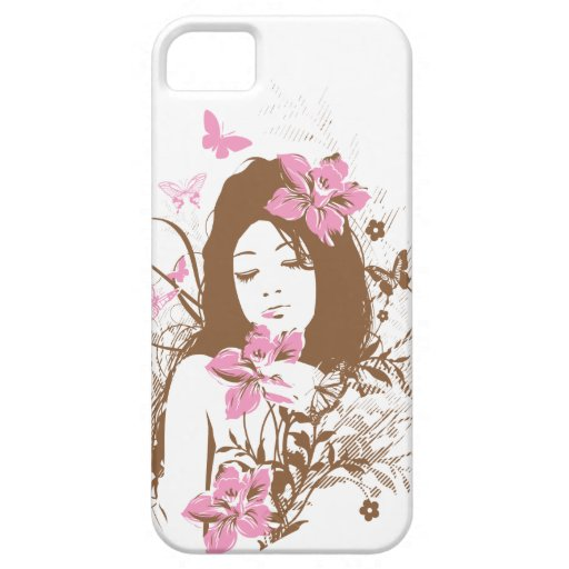 Beautiful Brown Girl iPhone 5 Case