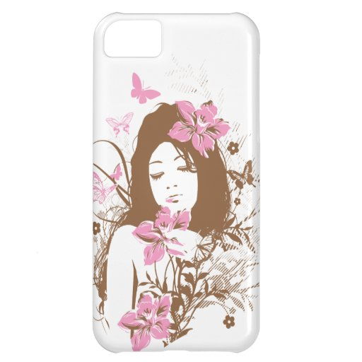 Beautiful Brown Girl Case For iPhone 5C