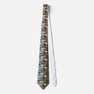 Beautiful Brown Spotted Bengal Cat Tie
