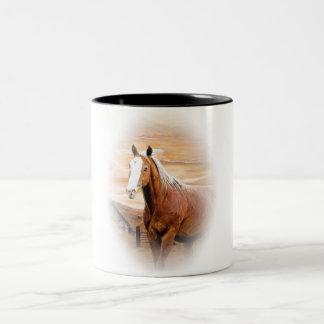 Beautiful Brown Stallion Coffee Mug