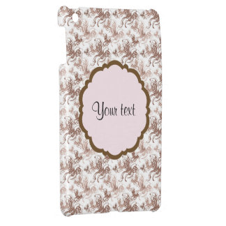 Beautiful Brown Swirly Butterflies iPad Mini Covers