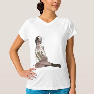 Beautiful Brunette Woman T-Shirt