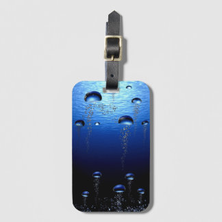 Beautiful Bubbles Luggage Tag