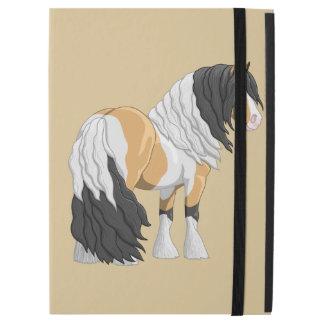 "Beautiful Buckskin Pinto Gypsy Vanner Draft Horse iPad Pro 12.9"" Case"