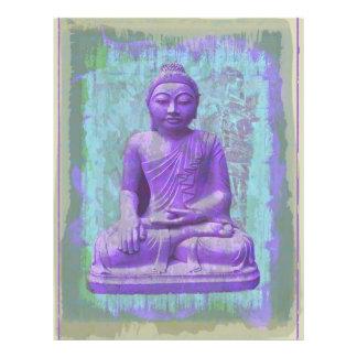 beautiful buddha custom flyer