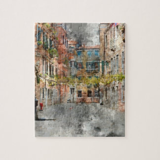 Beautiful Buildings in Venice Italy Jigsaw Puzzle