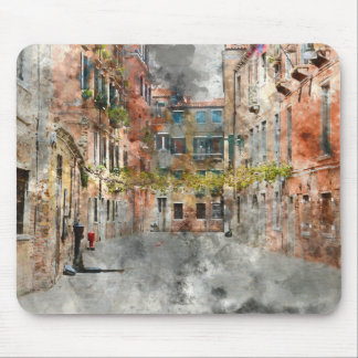 Beautiful Buildings in Venice Italy Mouse Pad