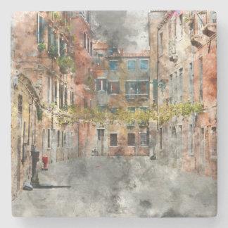 Beautiful Buildings in Venice Italy Stone Beverage Coaster
