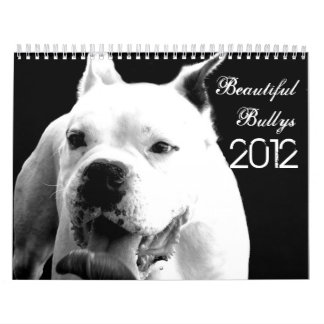 Beautiful Bullys 2012 Dog Calendar