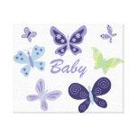 "Beautiful Butterflies Nursery (10""x8"") Canvas Prints"
