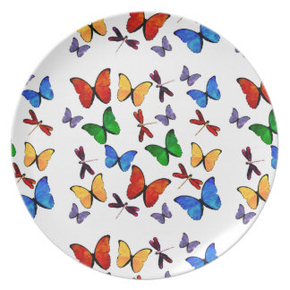 Beautiful Butterflies Party Decor Party Plate