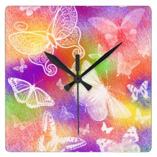 Beautiful Butterflies Wall Clock by Julie Everhart