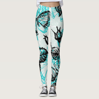Beautiful butterfly leggings
