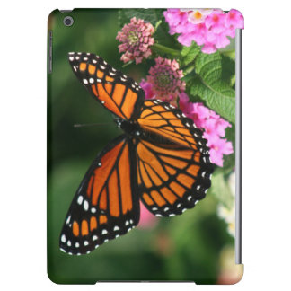 Beautiful Butterfly on Lantana Flower iPad Air Cover